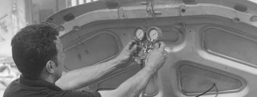 شارژ گاز کولر ماشین رنو